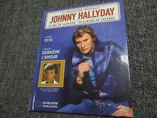 "CD-LIVRE ""JOHNNY HALLYDAY - DERRIERE L'AMOUR (1976)"""