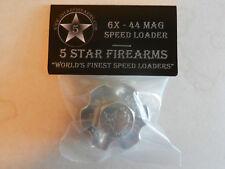Aluminum Speedloader, Speed Loader;  S&W 629, Super Redhawk, etc;  6X-44Mag