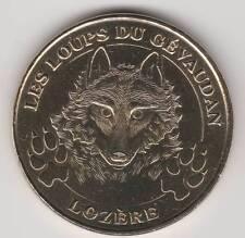 -- 2007 COIN TOKEN JETON MONNAIE DE PARIS -- 48 100 LES LOUPS DU GEVAUDAN LOZERE