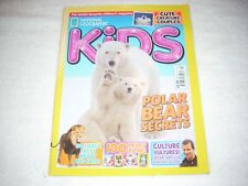 National Geographic Kids Magazine Issue 134 February 2017 Polar Bears