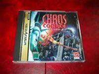 Sega Saturn Chaos Control Japan SS