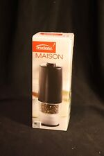 Trudiau Maison Automatic Sea Salt or Pepper Grinder/Mill - One-Hand Operation