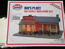 Model Power Ma's Place  Building KIT HO Scale (1:87) KIT MPB190