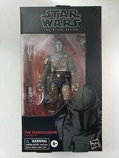 "The Mandalorian Black Series 6"" Star Wars #94 NEW imperfect box Gamestop sticker"