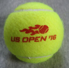 2016 US Open Tennis Match Event Used Wilson Ball Women's Game Red logo New York