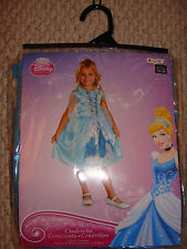 Disney Princess Cinderella Child's Halloween Costume M(7-8) New Free Ship Girl