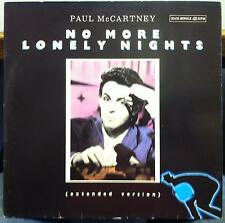 "PAUL MCCARTNEY no more lonely nights 12"" Mint- 052-2003506 Spain 1984 Record"