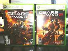Gears of War 2 and Gears of War XBox 360 Bundle Complete and Free Shipping