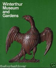 Du Pont  Winterthur Museum and Gardens Delaware Photo Tour Guide 1984