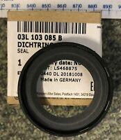 Crankshaft Oil Seal Genuine VW 03L103085B A1 Seat Ibiza Fabia Rapid Polo