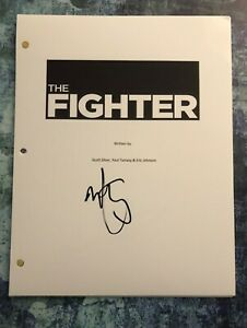 GFA The Fighter Movie MARK WAHLBERG Signed Full Page Movie Script COA