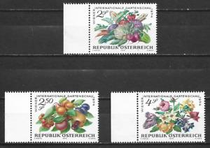 AUSTRIA  - 1974 Vienna International Horticultural Show - MUH  COMPLETE  SET.