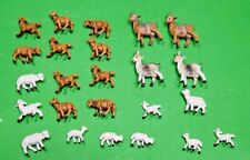 "Vintage Fontanini Depose Italy Nativity Sheep & Goats (Lot of 24) for 2.5"" Set"