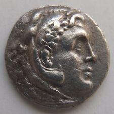 ALEXANDER THE GREAT Tetradrachm silver coin—Macedon Kingdom, c.323-73 BC Greece