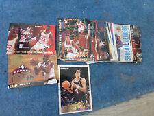 ancien lot 30 cartes panini NBA baskets divers 94 95 collection