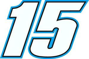 NEW FOR 2019 - #15 Ross Chastain Racing Sticker Decal - Sm thru XL - var. colors