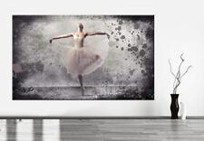 Prima Ballerina Ballett Bild Leinwand Abstrakte Kunst Bilder Wandbilder D0952
