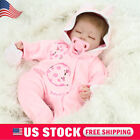 Lifelike Reborn Baby Dolls Real Life Soft Vinyl Silicone Baby Doll Girls Gift