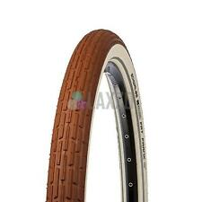 """Schwalbe Fat Frank K-Guard Active Line Tyre 26x2.35"""" Wired Brown/Whitewall Ref"""