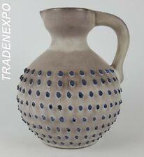 Vintage MAREI MAJOLIKA KERAMIK Jug Vase West German Pottery Fat Lava Era