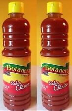Salsa Botanera Clasica Picante Hot Sauce 35oz Each 2 Bottle Lot Sealed