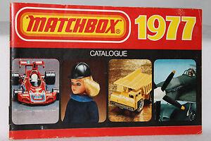 Matchbox Superfast Toys, 1977 Collectors Catalog, Original