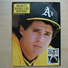 Vintage Beckett Baseball Card Monthly Issue #67 October 1990 Jose Canseco NEW