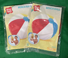 Lot of 2 Play Day Beach Ball BRAND NEW