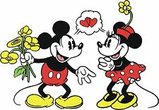 Mickey & Minnie Mouse Love #24 TShirt Iron on Transfer