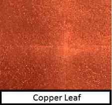 10 sheets of copper leaf 7cm x 7cm (Transfer) gold & silver leaf also in shop
