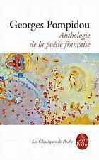 Anthologie de la Poesie Francaise by Pompidou (Paperback)