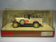 MATCHBOX MODELS OF YESTERYEAR Y-35 1930 MODEL A FORD - FRESH FARM MILK GLIFFORD