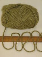 100g balls Moss Green 100% Pure Merino Chunky knitting Wool Yarn crochet Felting
