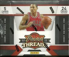 2010-11 Panini Threads Factory Sealed Basketball Hobby Box  John Wall ROOKIE?