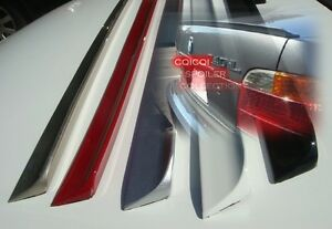 Matte Black Trunk Lip Spoiler For BMW 94-01 E38 7-series Sedan ◎