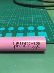40x Samsung INR18650-35E  /  3,7 V / 3500mAh /  LiNiCoAlO2 3C / 10,5A