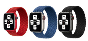 For Apple Watch Strap Band Series 6/5/4/3/2/1/SE Braided Solo Loop