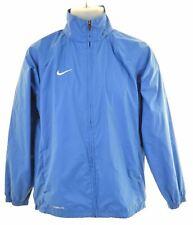 NIKE Boys Raincoat 13-14 Years XL Blue Nylon  CB09