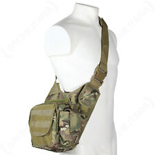 Multitarn Camo Molle Hombro Pack Militar Army Tactical Sling Messenger Bag