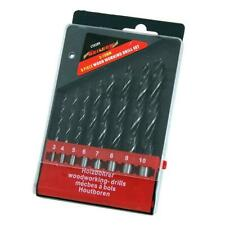 8pc Wood Working Drill Bits Set Sizes - 3 4 5 6 7 8 9 & 10mm Woodwork