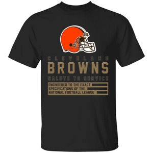 Men's Cleveland Browns 2020 Sideline Performance Black T-shirt S-4XL