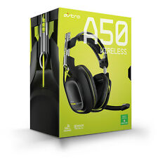 Astro A50 Wireless Gaming Headset - Xbox One Dolby Pro Logic IIx Black/Lime READ