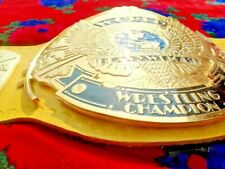 WWF WINGED EAGLE CHAMPIONSHIP BELT WITH YELLOW STRAP
