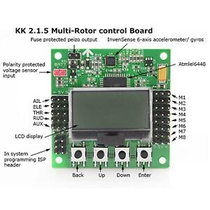 LCD KK2.1.5 Flight Controller V1.9S for RC Multi-rotor Drone Fixed-Wing Copter