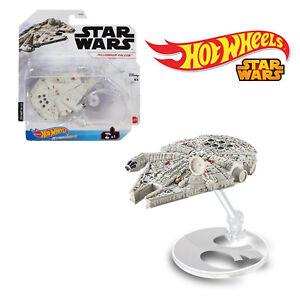 Mattel Hot Wheels Millennium Falcon Star Wars Rise of Skywalker Starships (2019)