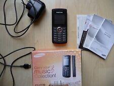 Samsung  GT -E2120   Schwarz /Rot MUSIC COLLECTION--Handy-ohne Simlock-entsperrt