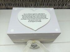 Shabby Personalised Chic Memory Box Baby Boy Son Bereavement  Sentimental