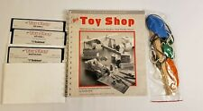 Rare Commodore 64 Borderbund Toy Shop Software Game with Manual + Toy Supplies