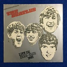 THE BEATLES Live Im Star-Club 1962 -1977 German vinyl LP EXCELLENT CONDITION