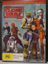Star Wars - The Clone Wars - Animated Series, Season 2, Vol 4 (DVD, Region 4) L1